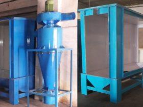 Batch Type Powder Coating Booths
