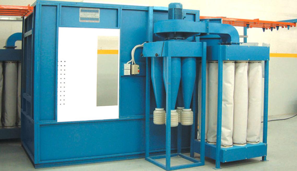 Conveyorized Powder Coating Booths