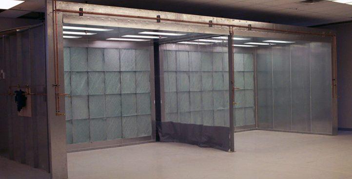 Lab Spray Booth